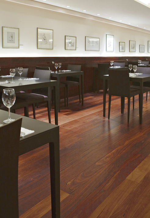 Commercial Wood Flooring Cornwall